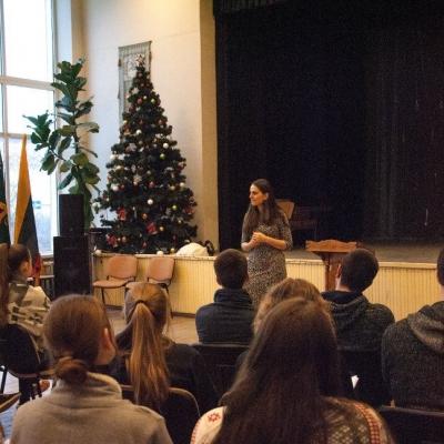 Naujųjų naktį Telšiuose – moksleivių ateitininkų žiemos akademija
