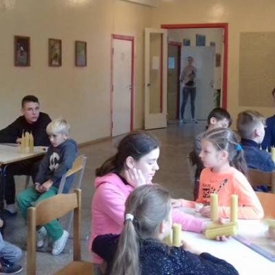 Nemunaičio rudens stovykloje - įdomios veiklos ir daug renginių